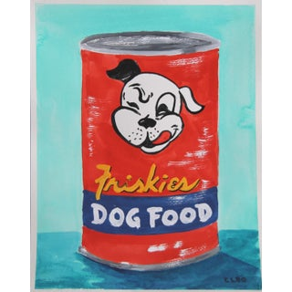 Dog Food Can Pop Art a La Warhol by Cleo Plowden For Sale