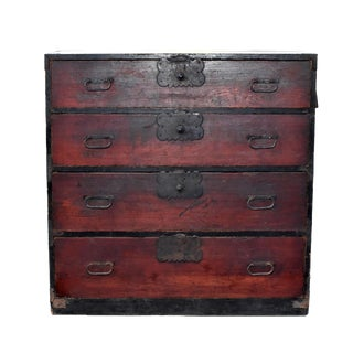19th Century Vintage Japanese Tansu For Sale