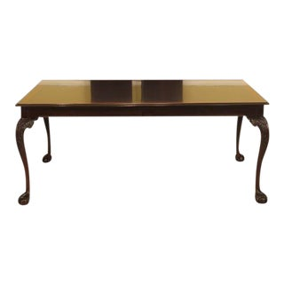 Stickley Ball & Claw Mahogany Dining Room Table For Sale