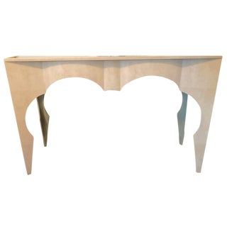 Made Goods Wanda Shagreen Console For Sale