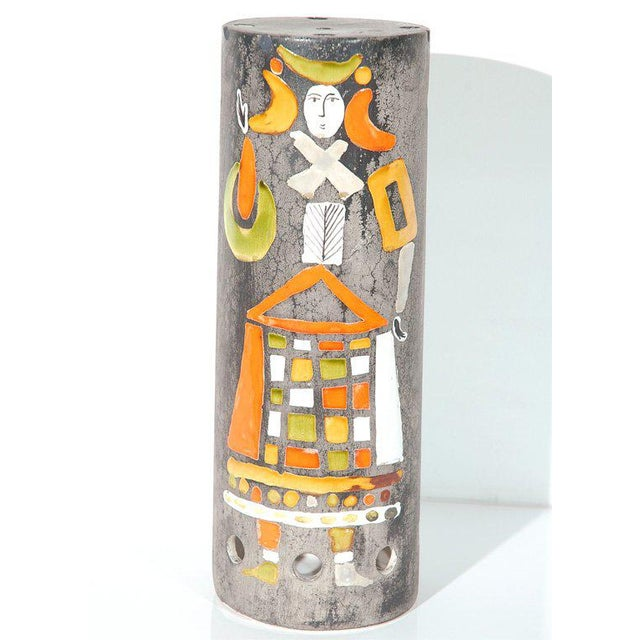 Ceramic Ceramic Lamp Shade by Roger Capron For Sale - Image 7 of 7