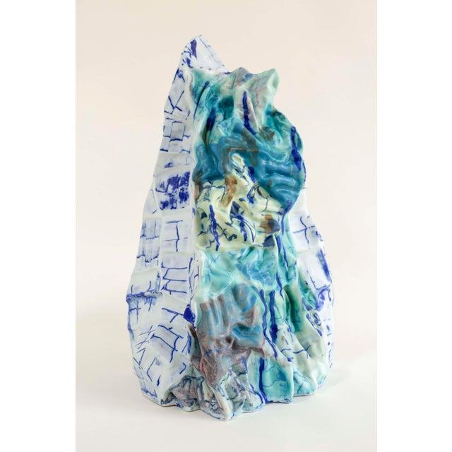 BABS HAENEN Bending the Walls - 'Lop Nor Iii' Porcelain Sculpture by Babs Haenen For Sale - Image 4 of 4