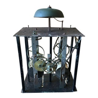 19th Century French Comtoise Clock Movement For Sale