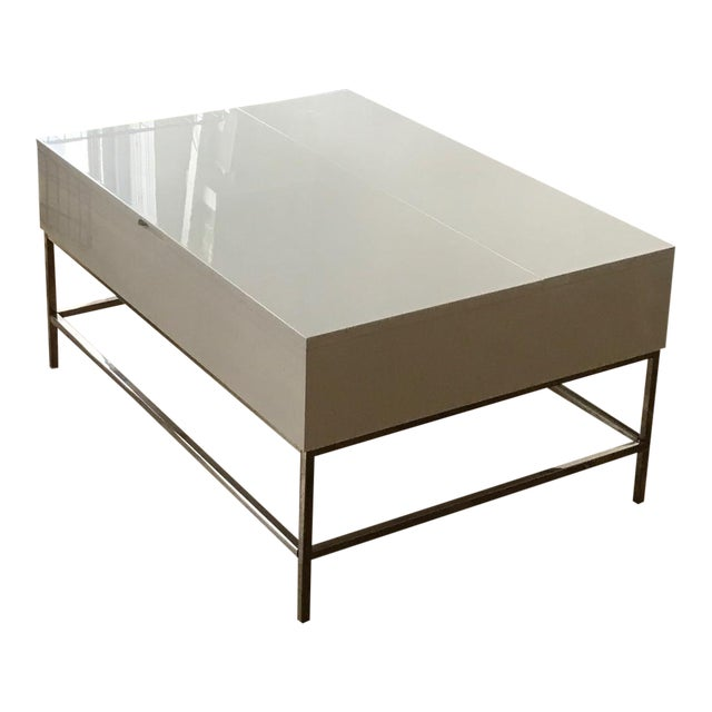 West Elm Storage Coffee Table - Image 1 of 7