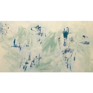 Contemporary Abstract Acrylic Painting For Sale