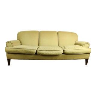 Overstuffed Sofa by Ralph Lauren For Sale