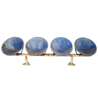 Rare 1964 New York Worlds Fair Benches For Sale