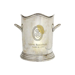 Vintage Louis Roederer French Champagne Bucket For Sale