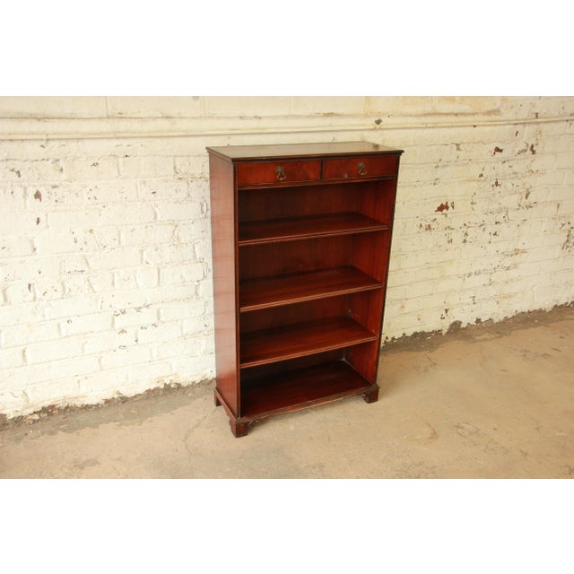 Vintage Imperial Mahogany Bookcase - Image 4 of 8
