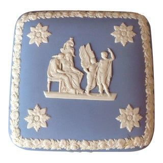 Wedgewood Square Trinket Box