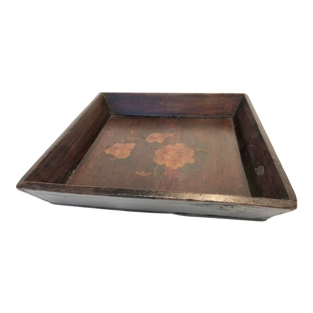 1940s Vintage Chinese Tray For Sale