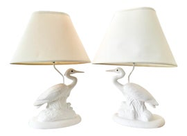 Image of Newly Made White Table Lamps