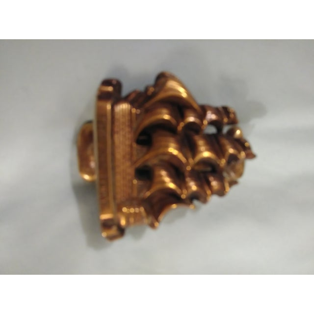 Vintage Victory Ship Brass Door Knocker For Sale - Image 4 of 6