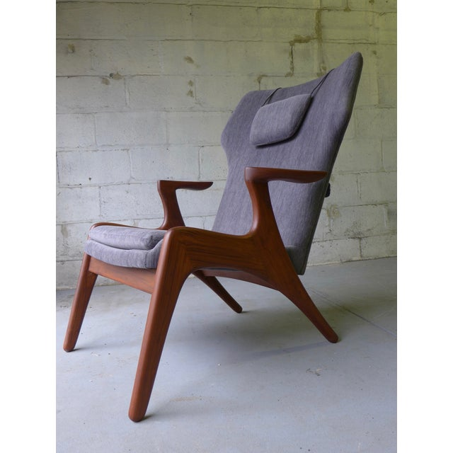 Mid-Century Lounge Chair - Image 2 of 7