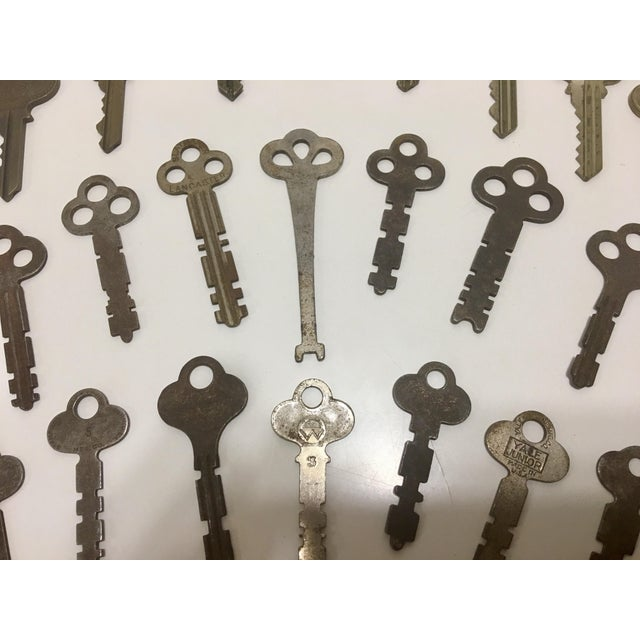 Collection of Antique Keys - Set of 75 - Image 3 of 9