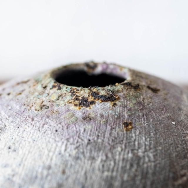 Contemporary Adam Silverman Contemporary Ceramic Vase For Sale - Image 3 of 10