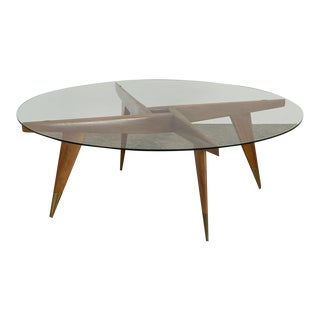 1950s Mid-Century Modern Gio Ponti Cocktail Table For Sale
