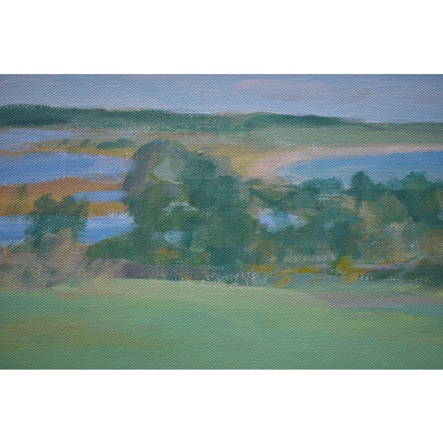 """2010s """"Summer Days"""" Stephen Remick Contemporay Plein Air Painting For Sale - Image 5 of 10"""