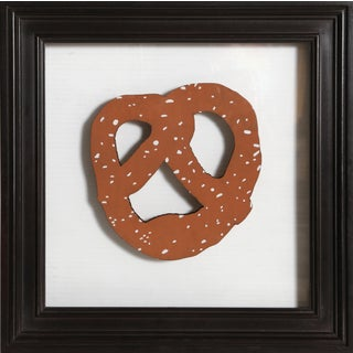 Claes Oldenburg, Nyc Pretzel Cardboard Construction For Sale