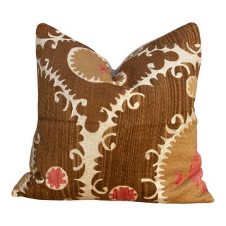 Larisa Suzani Square Pillow For Sale