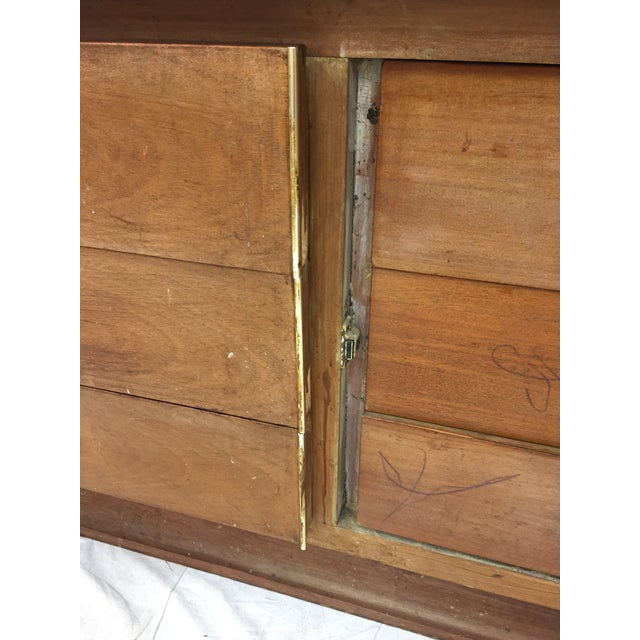 Mid-Century Modern Brutalist Kagan Style Dresser For Sale - Image 10 of 11