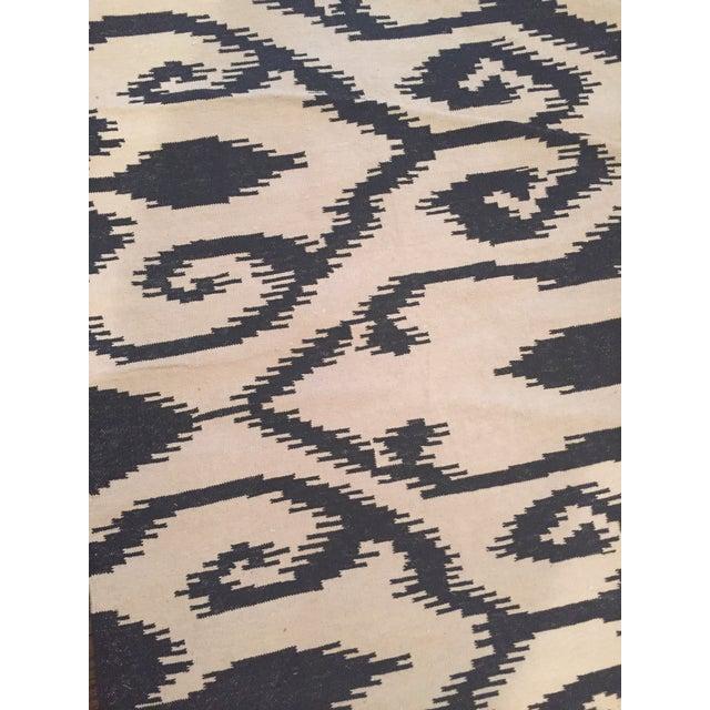 Stark Ivory & Black Chili Rug - 5′ × 8′ - Image 4 of 4