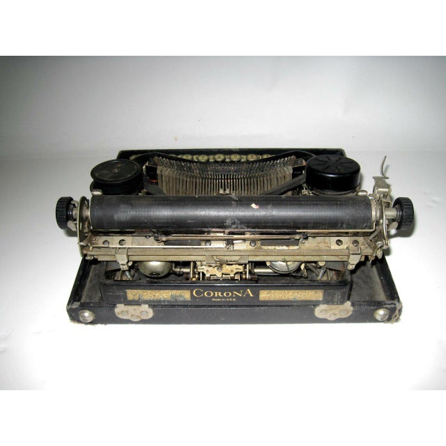 Corona Art Deco Typewriter - Image 4 of 7
