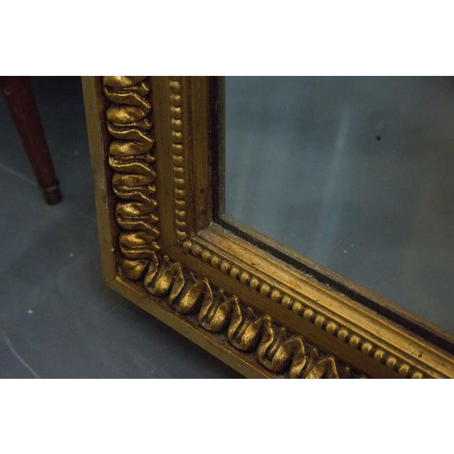 19th Century Giltwood Palace Mirror For Sale In West Palm - Image 6 of 7