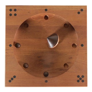 Piet Hein Teak Roll-Ette Game Board by Skjode Skjern of Denmark For Sale