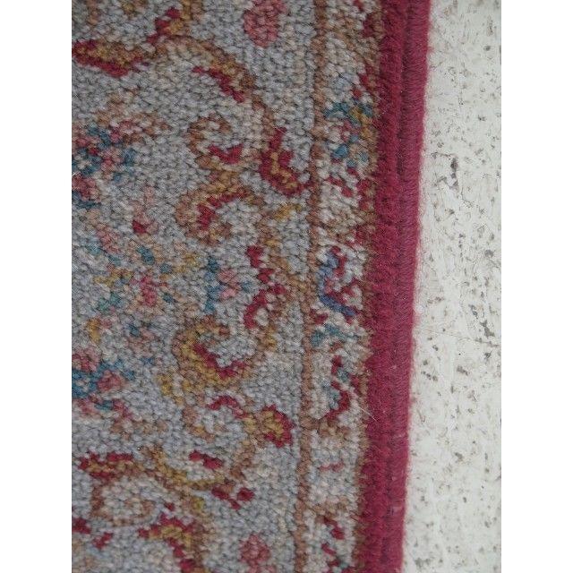 Textile 1980s Karastan Red Kirman Area Rug - 4′4″ × 6′9″ For Sale - Image 7 of 13