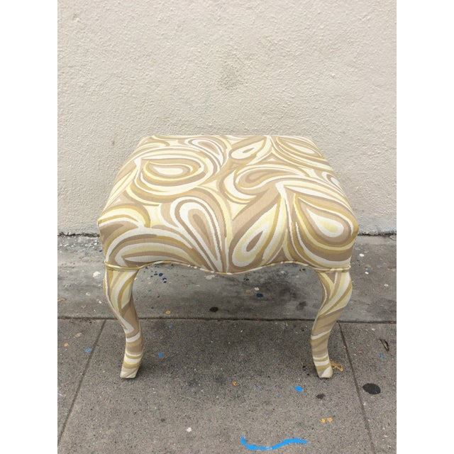 This freshly reupholstered stool is perfect for a bedroom, living room or walk in wardrobe. It is a great size for setting...