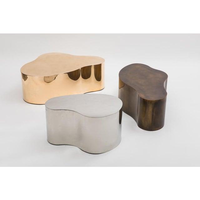 """Karl Springer LTD, Bronze Free Form Low Table """"C"""", USA, 2016 For Sale - Image 12 of 13"""