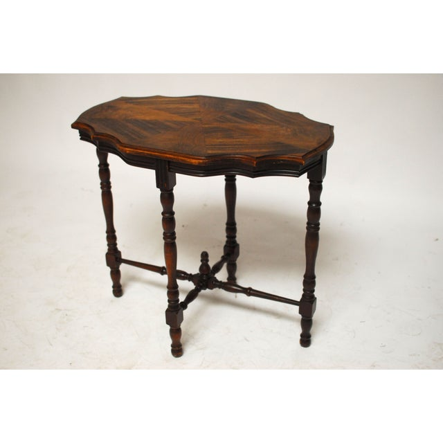 Mahogany Occasional Table - Image 2 of 6