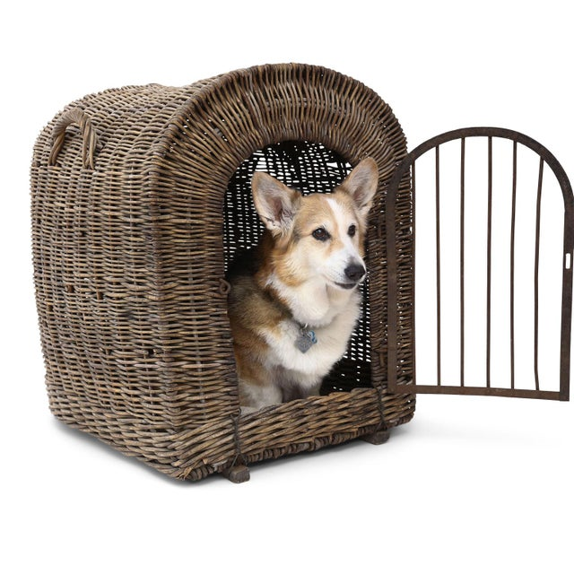 English Wicker Dog Kennel For Sale - Image 13 of 13