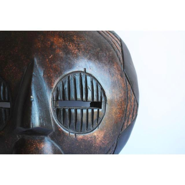 African Handcarved African Mask For Sale - Image 3 of 5