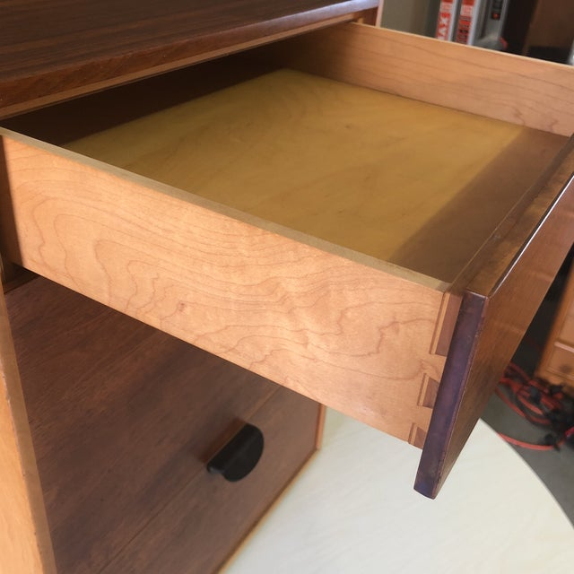 Finn Juhl for Baker Furniture Four Drawer Walnut Cabinet For Sale - Image 12 of 13