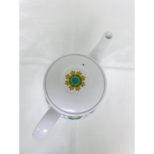 1970s Vintage Noritake Progression Palos Verde Teapot For Sale - Image 5 of 9