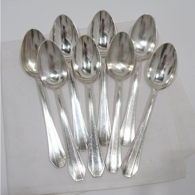 French Grand Hotel Tablespoons - Set of 8 - Image 2 of 4