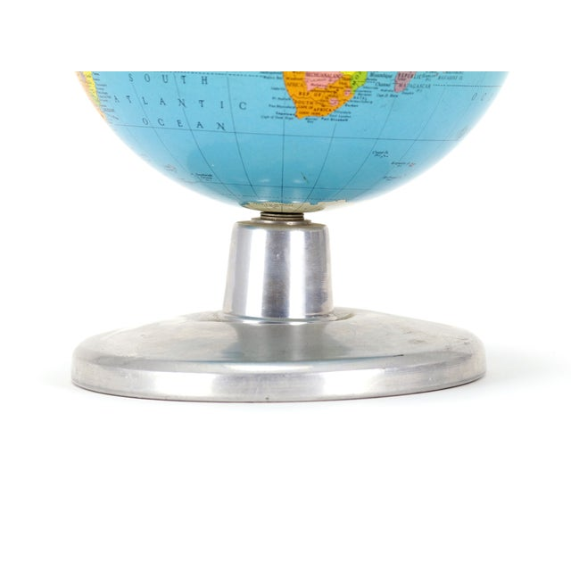 "Replogle Simplified 8"" Globe on Aluminum Base - Image 3 of 3"