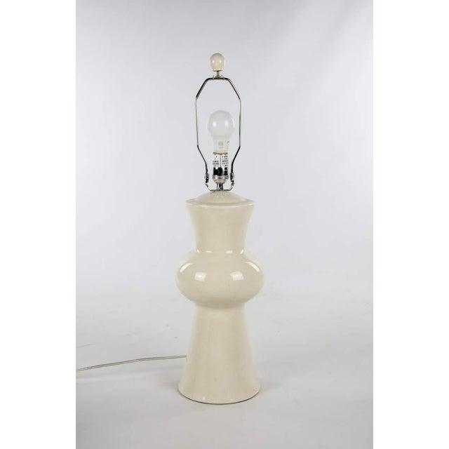Modern Gordon Porcelain Table Lamp For Sale - Image 3 of 10