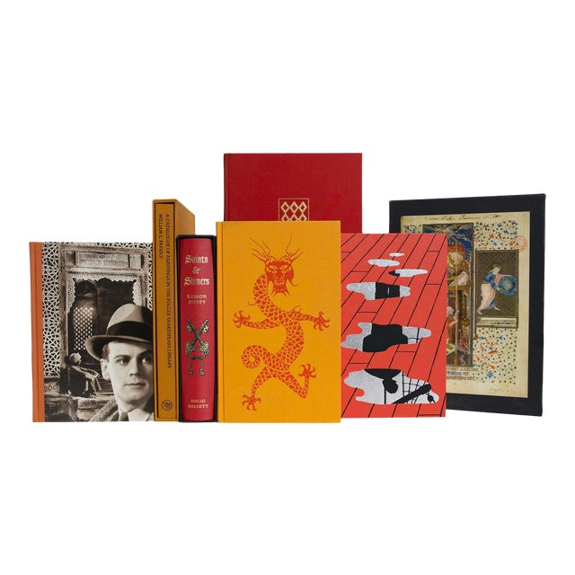 Fireside Chat Boxed Book Set, (S/15) For Sale