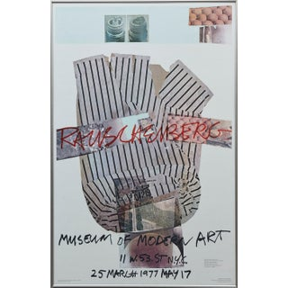Robert Rauschenberg Museum of Modern Art, New York, 25 March - May 17 1977 For Sale