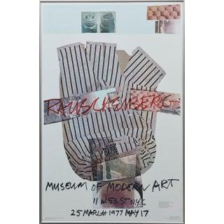Robert Rauschenberg - Museum of Modern Art, New York, 25 March - May 17 1977 For Sale