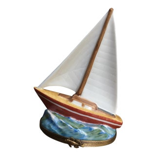 Sailboat Limoges Box
