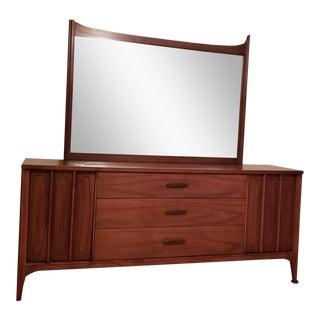 Mid-Century Modern Dresser Mirror For Sale