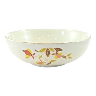 Round Leaf & Vine Bowl For Sale