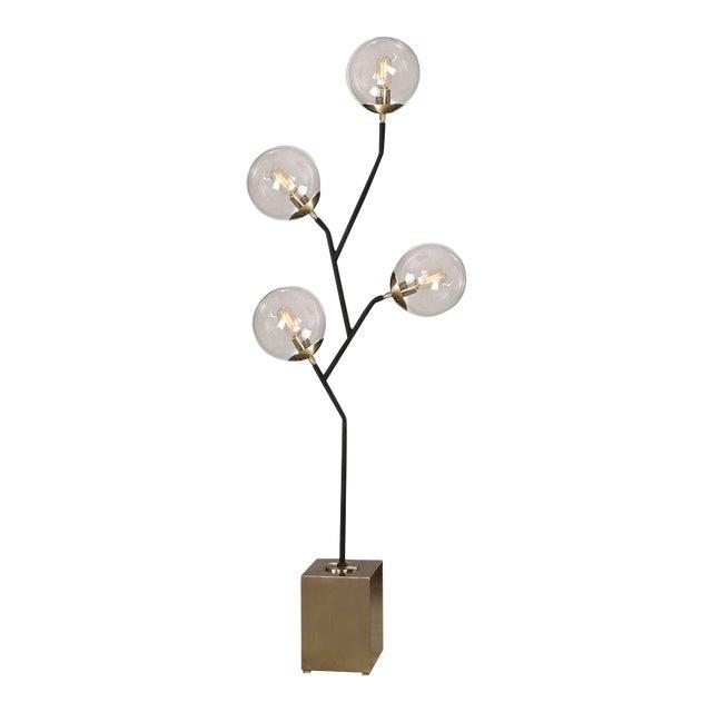 Modern Atomic Floor Lamp For Sale - Image 4 of 4