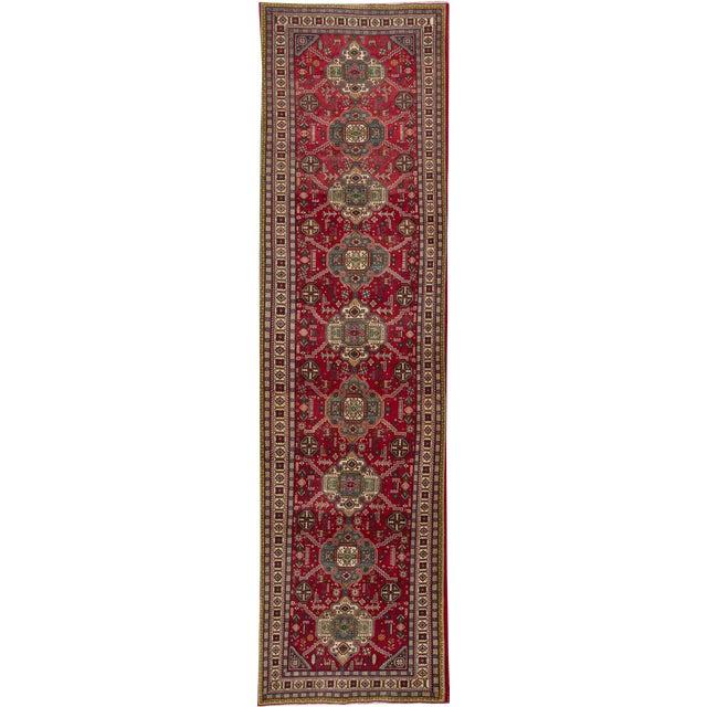 "Apadana - Vintage Persian Tabriz Rug, 3'4"" x 13'3"" For Sale"