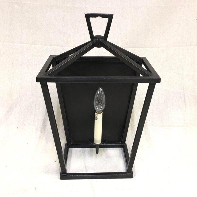 Aged Iron Darlana Wall Lantern by Visual Comfort - Showroom Sample Single-light wall lantern in an Aged Iron finish....