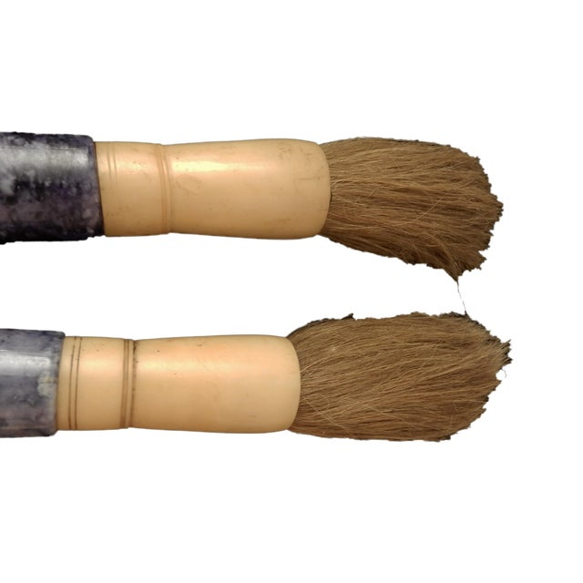 Chinese Calligraphy Brushes - A Pair - Image 3 of 5